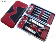Beauty Girl Hot Stainless Steel Manicure Pedicure Ear pick Nail-Clippers Set 10 in 1 Oct 26