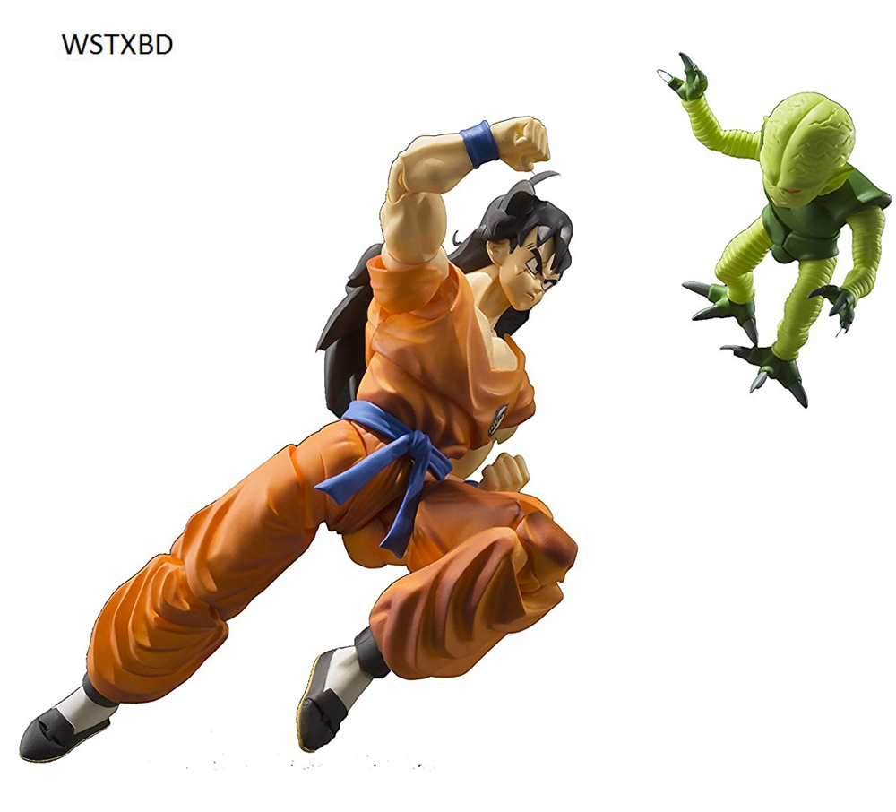 WSTXBD Original Dragon Ball Z DBZ SHF Yamcha PVC Figure Brinquedos Dolls Toys Figurals susan schulherr eating disorders for dummies