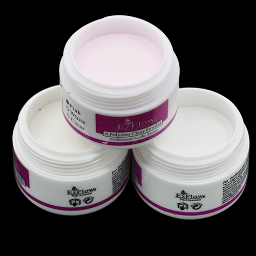 Sparkle Clear Transparent Color Acrylic Crystal Powder Nail Tips DIY Beauty Tool