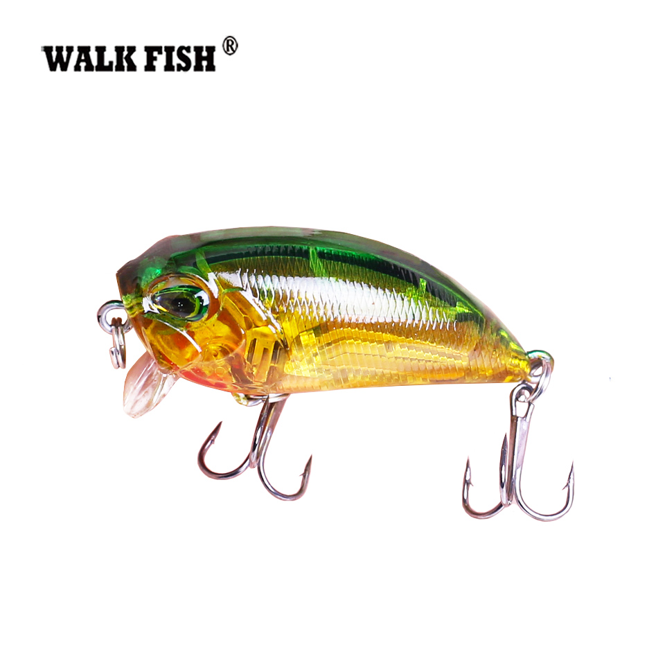 Walk Fish 1Pcs 4.8cm 8g wobbers Floating Fishing Lure Hooks Crankbait artificiais pesca Japan Hard Bait Fishing Tackle