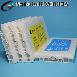 Kompatybilny Noritsu D701 D703 D1005 HR wkłady atramentowe z układu 500 ML w Tusze do drukarek od Komputer i biuro na