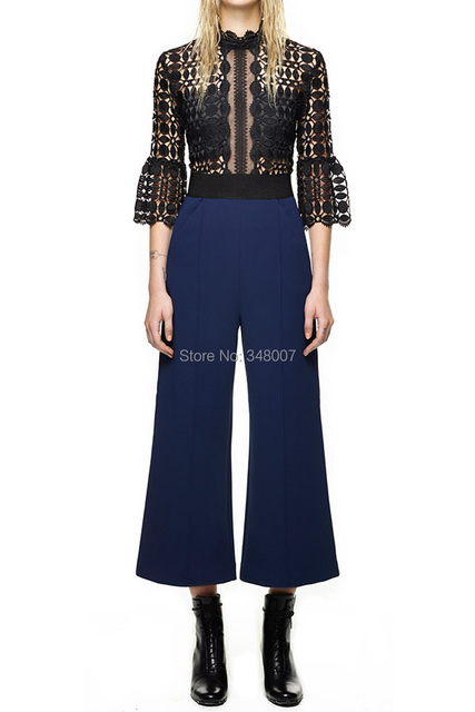 429a23937453 New Arrival Fashion Designed Free Shipping Self Portrait Scallop Edged  Jumpsuit