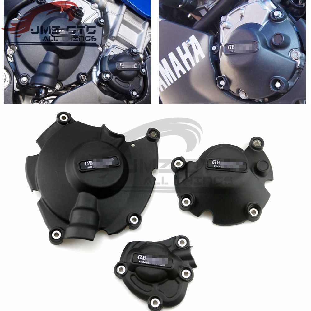 Motorcycles Engine cover Protection case for case GB Racing For YAMAMA <font><b>R1</b></font> R1S R1M 2015 2016 2017 2018 <font><b>2019</b></font> 2020 image