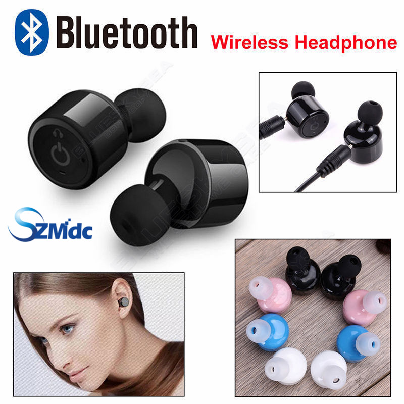 Gemelos Verdaderos NiUB5 X1T Mini Invisible Auricular Inalámbrico Bluetooth Auri