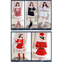 New Arrival Adult Christmas Game Play Costume Female Santa Claus Cosplay Costume Exotic Clothes Cosplay Disfraces