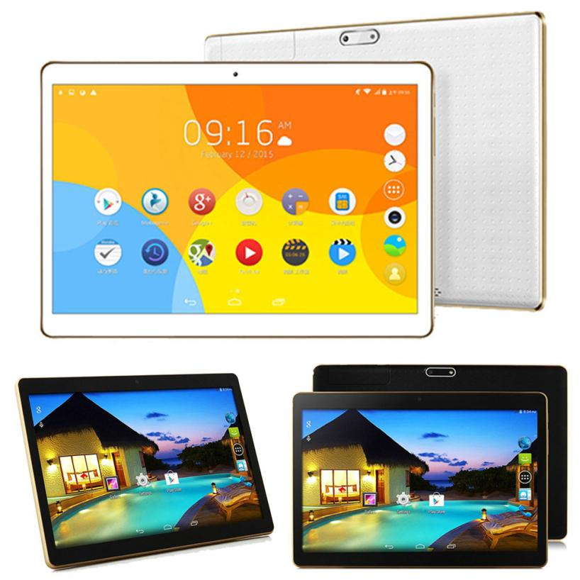 New 10.1 Inch MTK6592 Octa-Core 4G + 64G Android 6.0 Dual Sim Dual Camera Phone Pad Wifi Phablet Tablet PC 18Mar01 Drop Ship F yuntab7 inch quad core q88 1 5ghz android 4 4 tablet pc q88 allwinner a33 512mb 8gb capacitive screen 1024x600 dual camera wifi