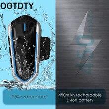 1 takım su geçirmez düşük tüketim QTB35 motosiklet kask kablosuz bluetooth kulaklık kulaklık kulaklık aksesuarları