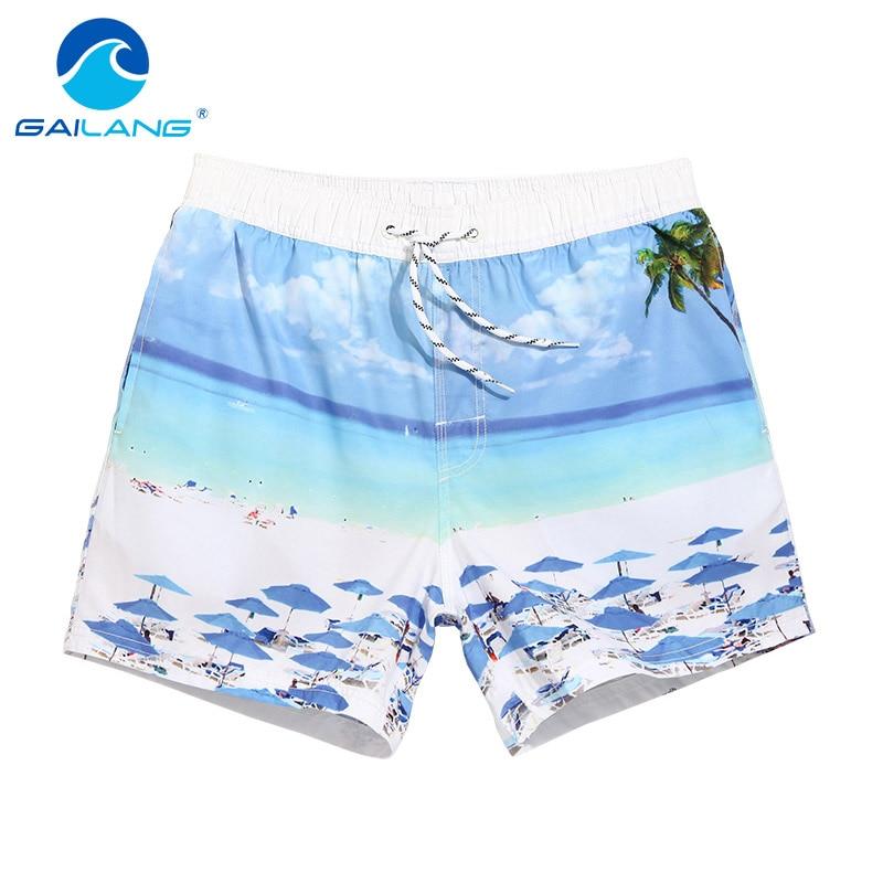 Gailang Marke Herren Strand Shorts Workout Cargos Mann Board Wear - Herrenbekleidung