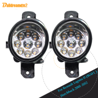 Buildreamen2 For Renault Laguna II (BG0/1_) Hatchback 2001 2012 1 Pair Car LED Light Front Fog Light Daytime Running Light DRL