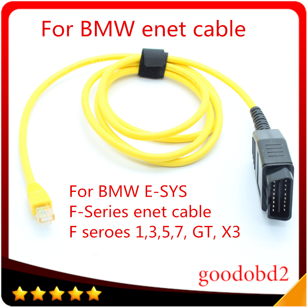 Car Diagnostic Tool Cable For Bmw Enet Ethernet To Obd Interface Electronics Electricity Gt Optical Fiber Wire Power E Sys Icom Coding F Series Esys 3234 V503 Data