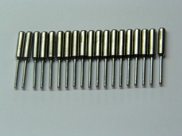 Tungsten carbide nozzle for Nittoku COil winding machine
