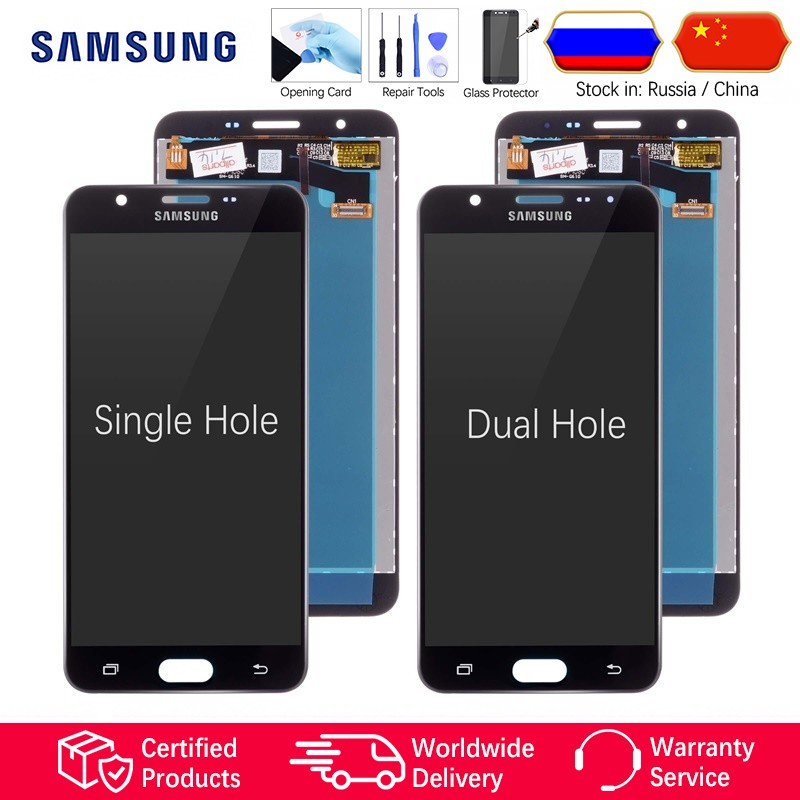 ❤️ 5 5'' Original Display for SAMSUNG Galaxy J7 Prime LCD Touch Screen G610  G610F G610M For SAMSUNG