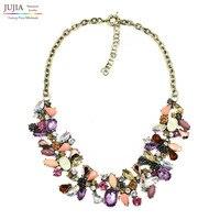 2014 New JC Design Woment Bib Collar Trendy Bubble Fashion Necklaces Pendants Costume Choker Chunky Necklace