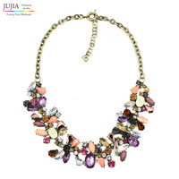 2014 New JC Design Woment Bib Collar Trendy Bubble Fashion Necklaces Pendants Costume Choker Chunky Necklace