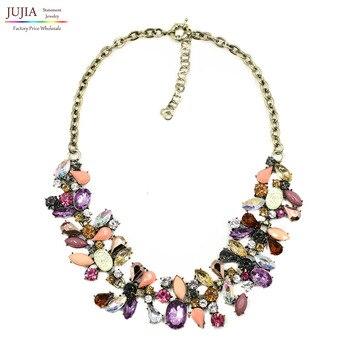 1345368c6c3a 2019 nuevo J diseño mujeres babero collar de moda collares y colgantes de  Gargantilla collar joyería DE LA DECLARACIÓN