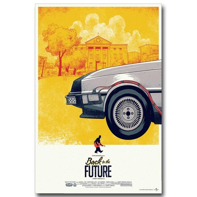 Плакат Гобелен Шелковый Назад в будущее