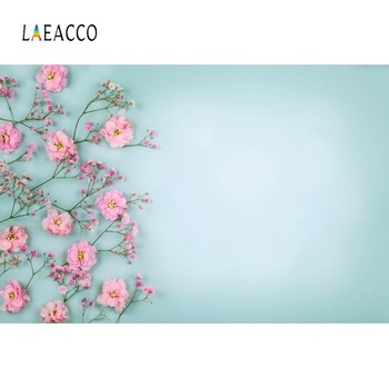 Vinyl Backdrops Blossom Cherry Flower Baby Newborn Food Portrait Photography Backgrounds Photo Photocall Studio
