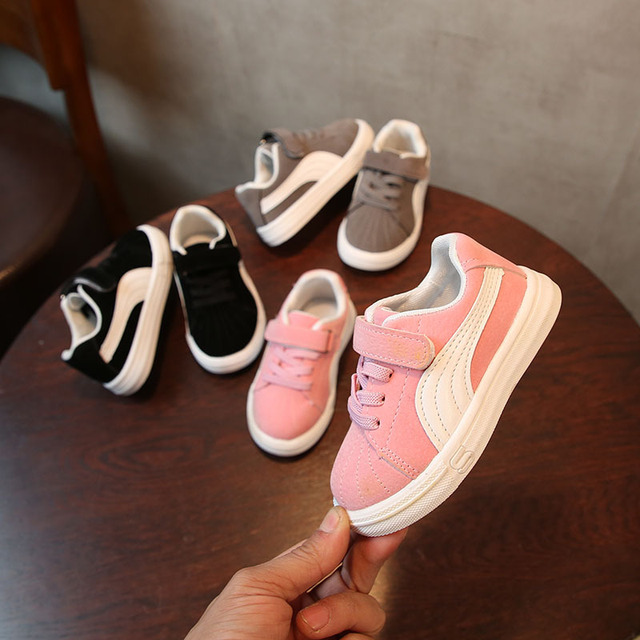 Kid's Breathable Striped Sneakers