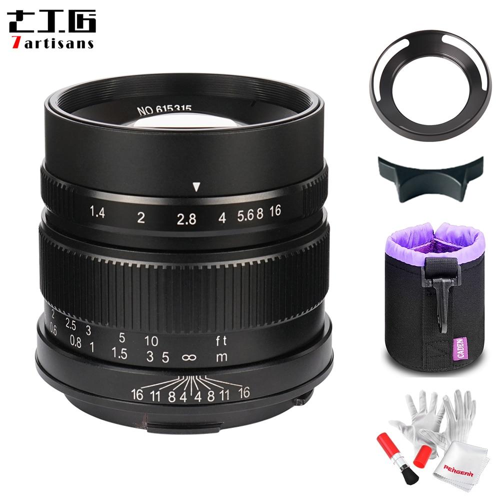 7artisans 55mm F1 4 Large Aperture Portrait Prime Manual Fixed Focus Lens APS C for Leica
