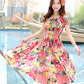 New  women clothes summer style long women dresses Bohemian women clothing casual dress