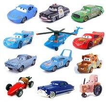 Disney Pixar Car 27Styles Lightning McQueen Mater Jackson Storm Ramirez 1:55 Die Cast Metal Alloy Model Children's Toy Car Gift