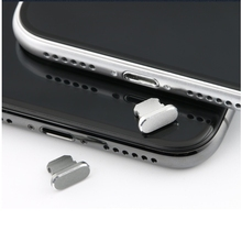 Metal Dust Plug for iPhone