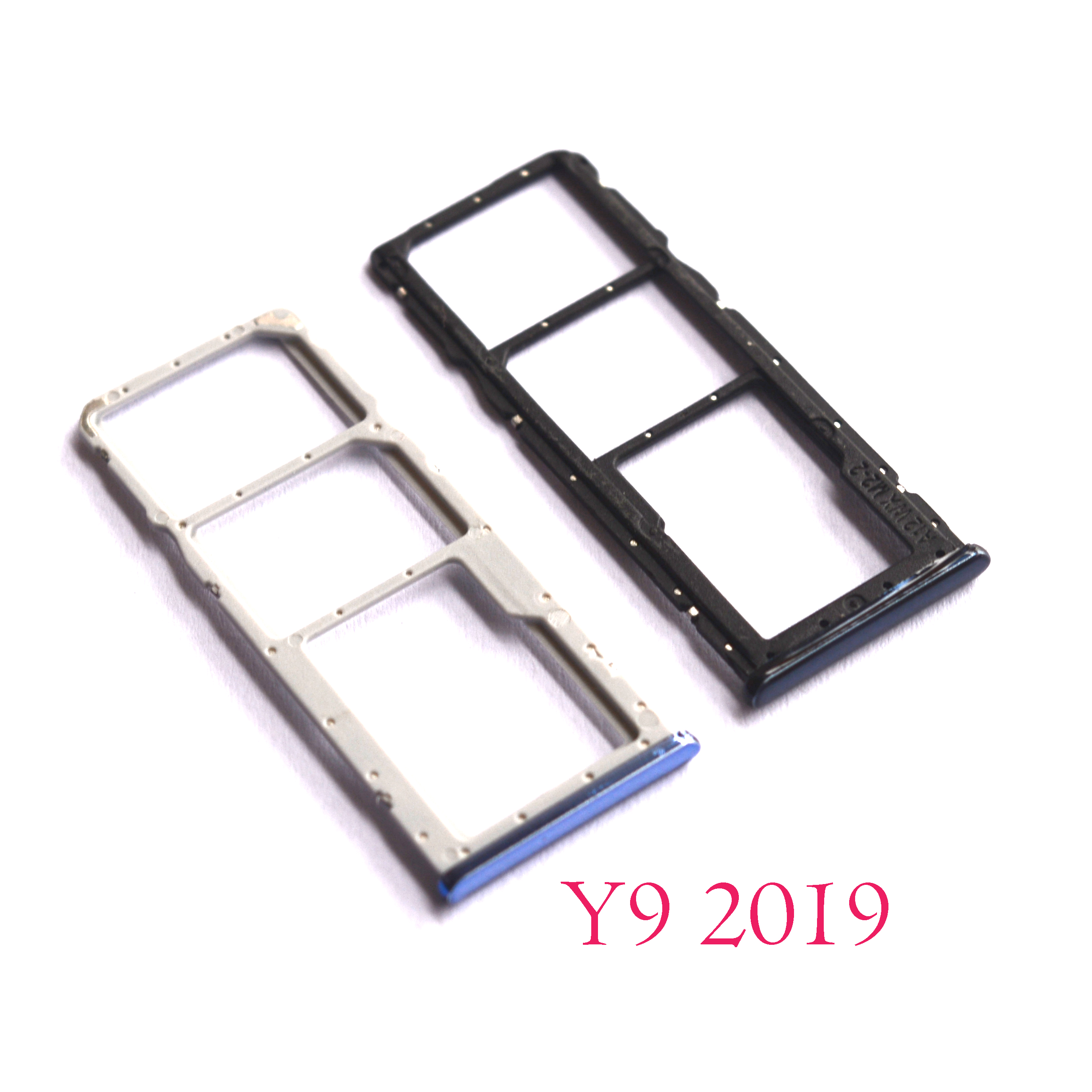 US $1 5 |For Huawei Y9 2019 SIM Tray Holder SD Card Reader Slot Adapter-in  SIM Card Adapters from Cellphones & Telecommunications on Aliexpress com |