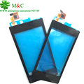 Original 520 Touch Panel For Nokia Lumia 520 N520 Touch Screen Digitizer Panel Glass Lens With Frame Bezel Free Tracking