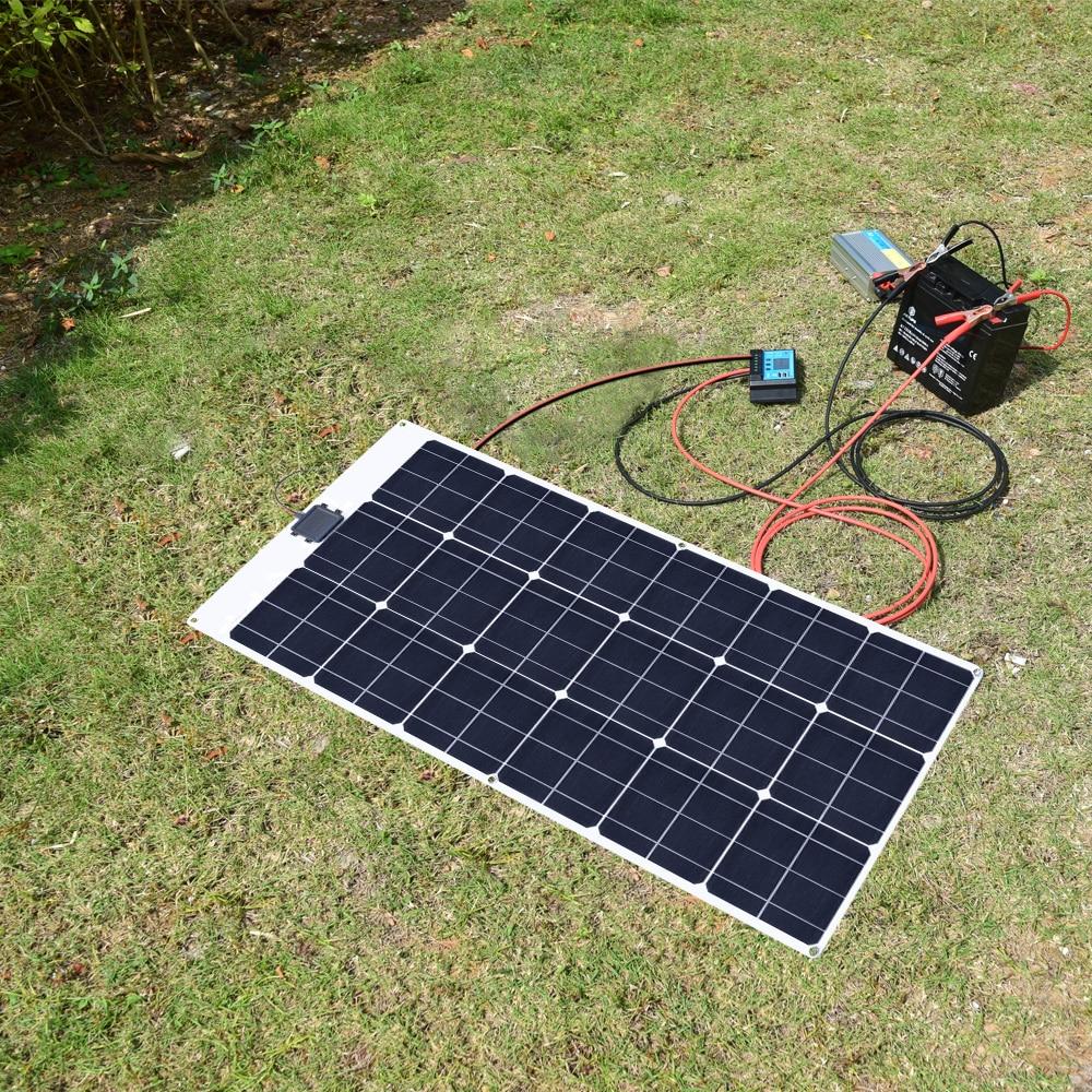 80W 18V Flexible solar panel 10