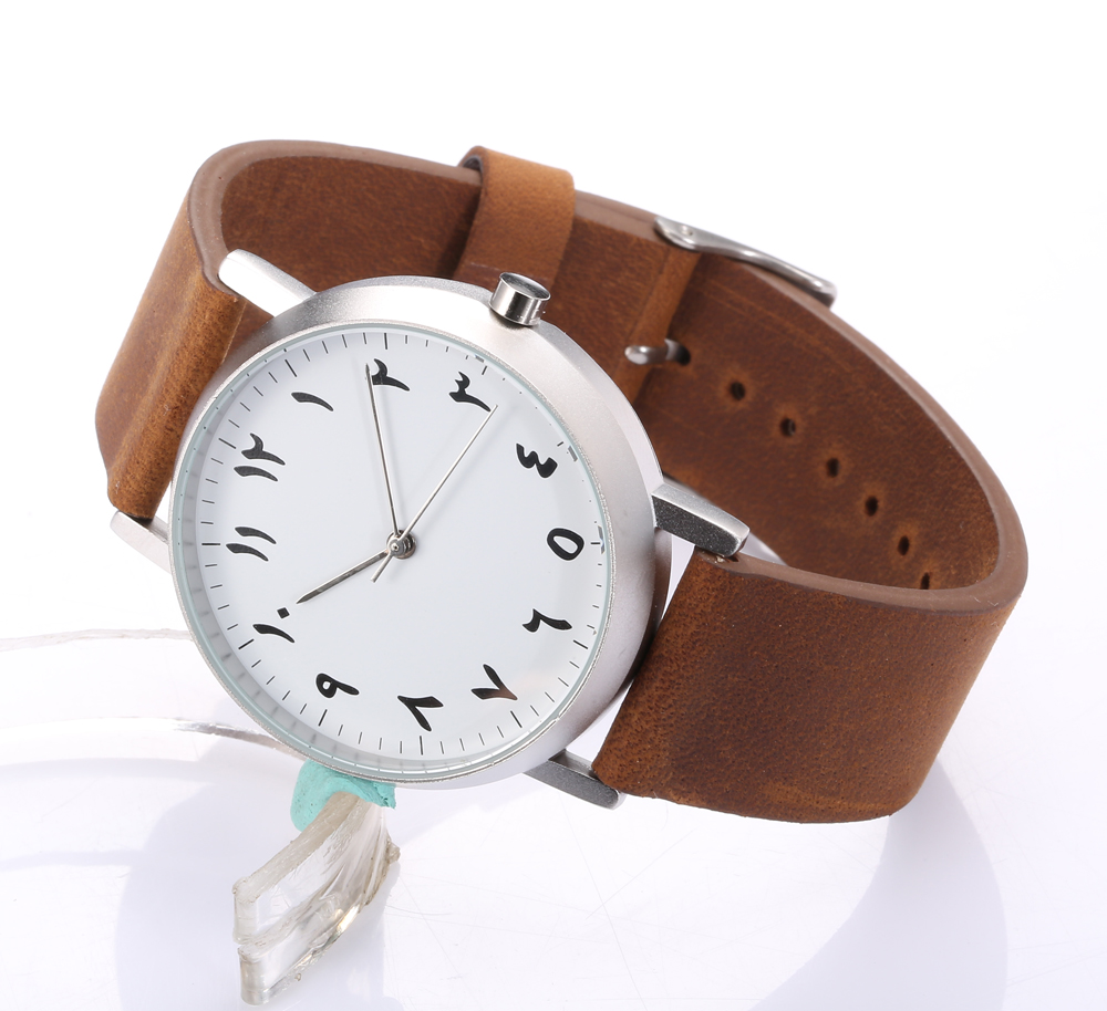 buy montre femme genuine italy leather strap quartz movement arabic watch women. Black Bedroom Furniture Sets. Home Design Ideas