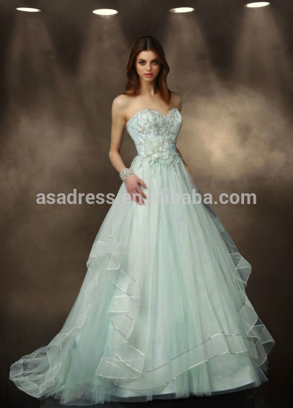 Online Buy Wholesale green wedding gown from China green wedding ...