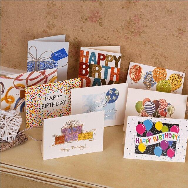 Aliexpress Buy Happy Birthday Greeting Cards For Kidsfriends
