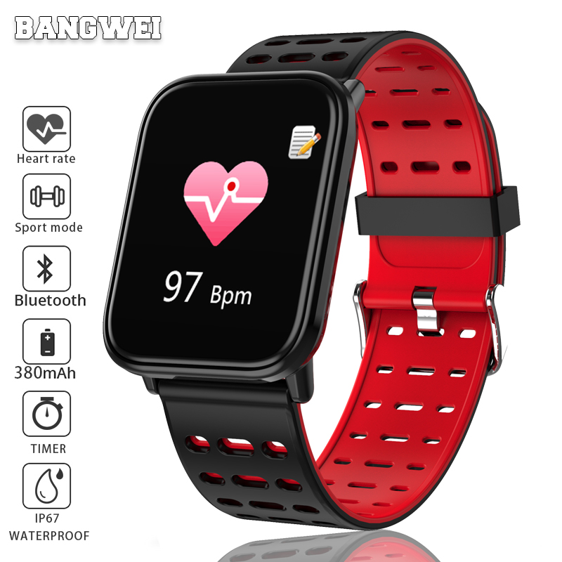 Genteel Wishdoit Smart Sport Watch Ip67waterproof Fitness Womens Watch Pedometer Tracker Heart Rate Monitor Smart Watch For Ios Android Good Taste Men's Watches Watches