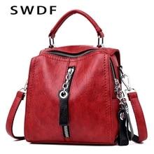 SWDF Bag for women 2019 Designer Shoulder Crossbody Bag PU L
