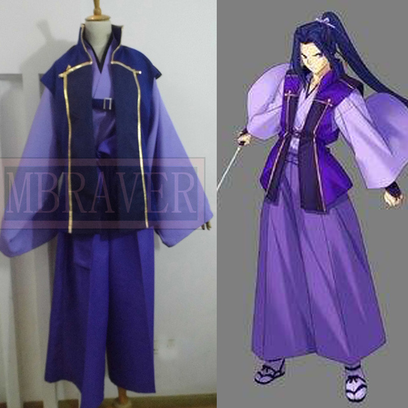 fate/stay night Assassin Sasaki Kojiro Cosplay Costume Whole Set
