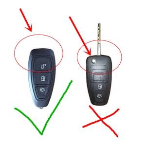 Image 2 - 2019 новый TPU крышка ключа автомобиля чехол для FORD C MAX фокус RS ST Fiesta хэтчбек мягкий TPU чехол для автомобиля в виде ракушки для укладки волос оболочки защитный брелок