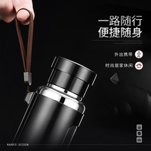 2018 New MUJIKU Knight Insulation Kettle High-end Magic Plastic Glass Tea Outdoor Sports Mountaineering Camping Water Bottle