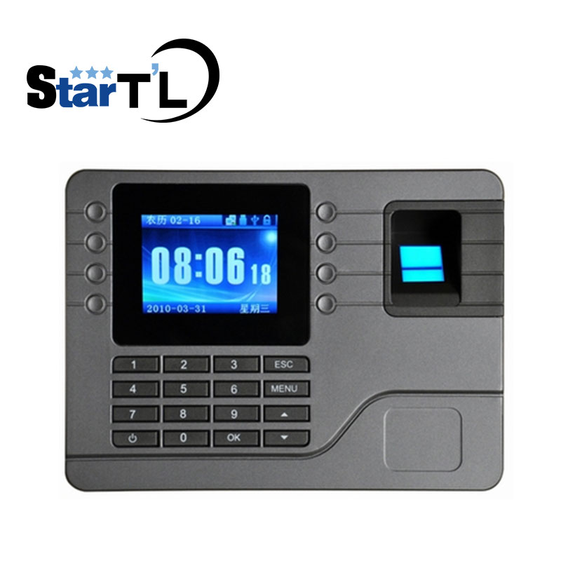 Free Shipping Biometric Fingerprint Time Attendance Clock Recorder Employee Recognition Device