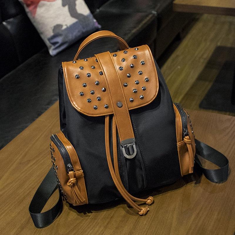 Cuckoobird New Arrival Backpack Vintage Women Shoulder Bag Girls Fashion Oxford Nonwovens Schoolbag Female Travel Casual