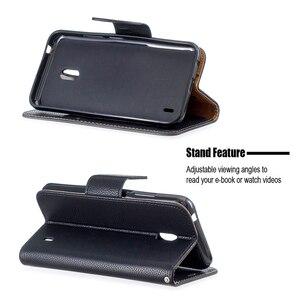 Image 5 - Portefeuille coque de téléphone pour Nokia 2.1 2.2 3.1 3.2 4.2 5.1 1 Plus Flip bracelet en cuir fentes pour cartes fermeture magnétique Stand Cover