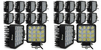 20pcs 4INCH 48W LED WORK WORKING DRIVE DRIVING LIGHT LAMP Epistar For OFFROAD 24V 4WD BOAT