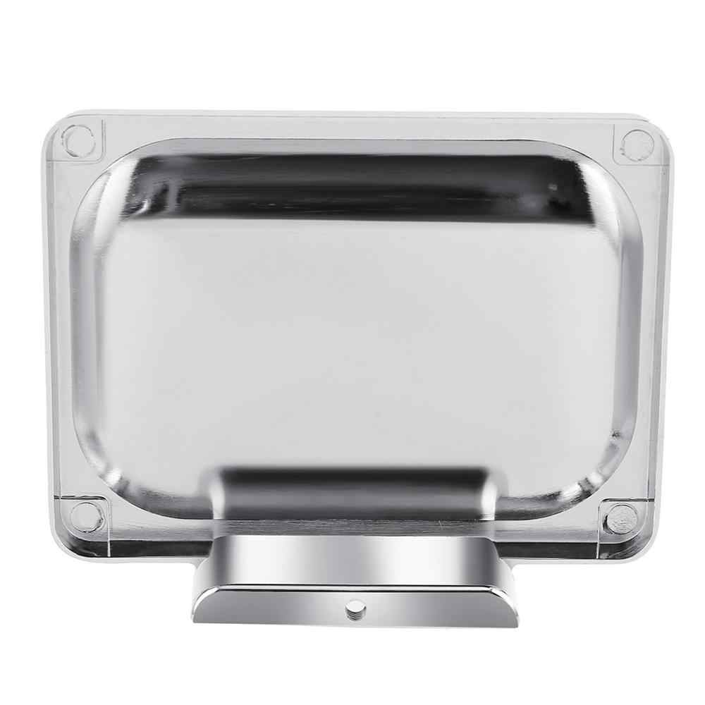 Wall Mount Stainless Steel Soap Dish Holder Commodity Shelf for Bathroom Kitchen Soap Dish Holder commodity shelf  5pz