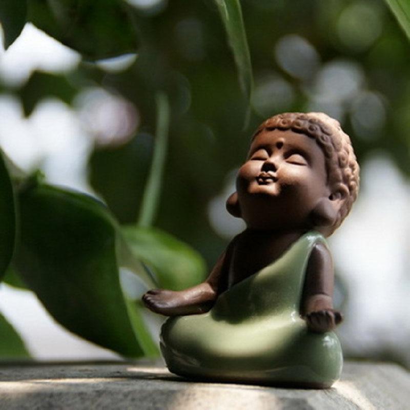 Ceramic Small Buddha Ornaments Creative Bonsai Platter