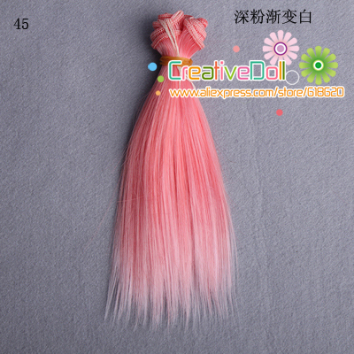 free-shipping-15cm-wholesales-Straight-Hair-DIY-Hairwigs-For-BJD-for-monster-high-for-barbie-dolls-1