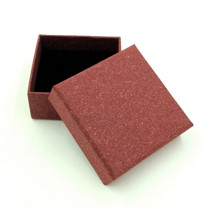 Free shipping wholesale 50pcs/lot 8.3*8.3*3.5cm Necklace Pedant Jewellery Packaging box,ring box,gift jewelry box