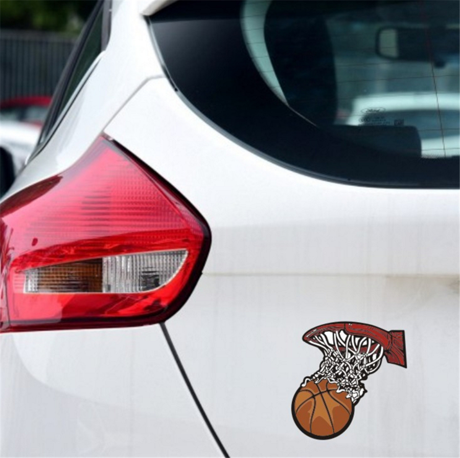 Car Stickers Micheal Jordan Basketball Air 23 Decals For Doors Auto ...