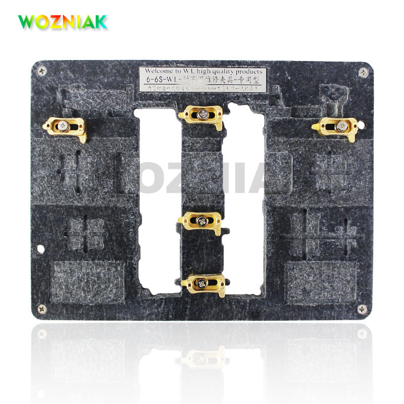 WOZNIAK WL Universal Fixture High Temperature Phone IC Chip Motherboard Jig Board Holder Maintenance Repair Mold Tool For iPhoneWOZNIAK WL Universal Fixture High Temperature Phone IC Chip Motherboard Jig Board Holder Maintenance Repair Mold Tool For iPhone