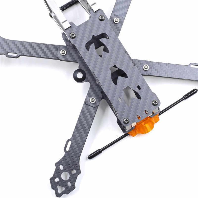 Geprc GEP-KHX7 élégant 7 pouces 300mm empattement 4mm bras 3K Fiber de carbone FPV course cadre Kit pour RC modèles bricolage pièces de haute qualité
