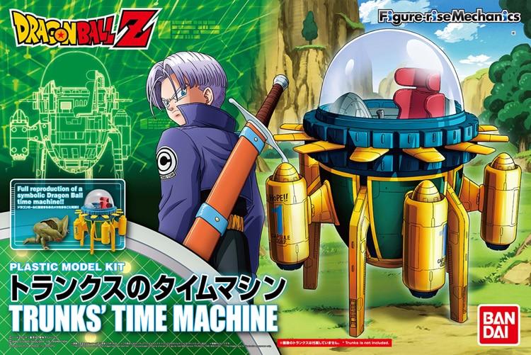 "100% Original BANDAI Figure-rise Mechanics Assembly Figure - Trunks' Time Machine Plastic Model from ""Dragon Ball Z"