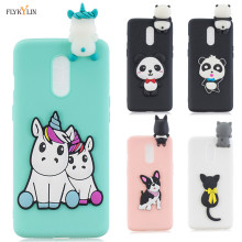 Silicone Case on for Oneplus 7 Pro Case 3D Cartoon Unicorn Soft TPU Cover For Coque Oneplus 7 One plus 7 Oneplus7 Phone Cases